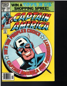 Captain America #250 (Marvel, 1980)