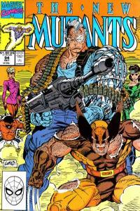 New Mutants (1983 series) #94, VF+ (Stock photo)