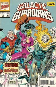 Galactic Guardians #3 VG; Marvel | low grade comic - save on shipping - details