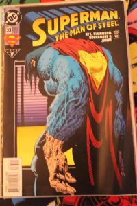 Superman the Man of Steel 33 NM