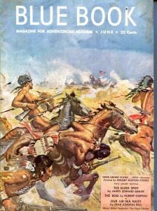 BLUE BOOK PULP-JUNE 1948-VG/FN-STOOPS COVER-BEDFORD-JONES-CORYELL-JOEL  VG/FN