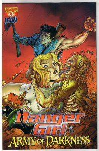 DANGER GIRL and the ARMY of DARKNESS #4 B, NM, Bradshaw, 2011, more AOD in store