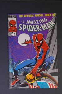 Official Marvel Index to Amazing Spider-Man #8 November 1985