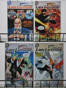 SUPERMANS NEMESIS LEX LUTHOR (1999) 1-4 THE SET!