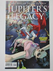 Jupiter's Legacy #2 (Image 2013) Midtown Comics Variant Millar Quitely