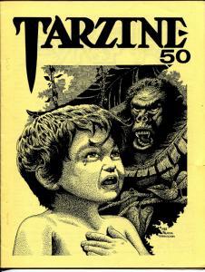 Tarzine #50 9/1986-Bill Ross-Edgar Rice Burroughs-Tarzan-Frank Hamilton-VF