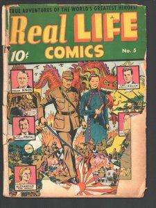 Real Life #5 1942-U S Marines-Gen Custer-Colin Kelly-China vs Japan -Hitler-A...