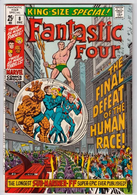 Fantastic Four King-Size Special #8 (Dec-70) NM/NM- High-Grade Fantastic Four...