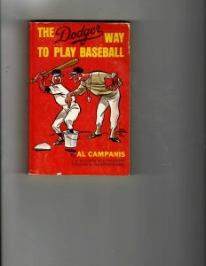 3 Books The Dodger Way to Play Baseball The Rainbow Affair There Oughta Law JK14