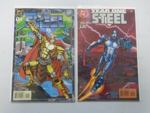 Steel Annual #1+2 8.0 VF (1994+95)