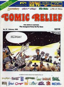 Comic Relief (magazine) #47 FN; Page One | save on shipping - details inside