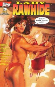 Lady Rawhide #3 VF/NM; Topps | save on shipping - details inside