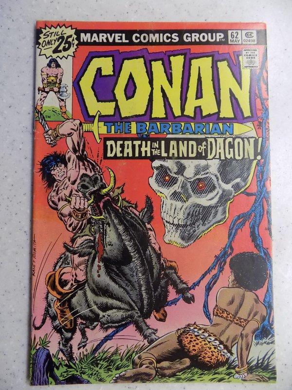 CONAN THE BARBARIAN # 62 MARVEL SAVAGE SWORD FANTASY