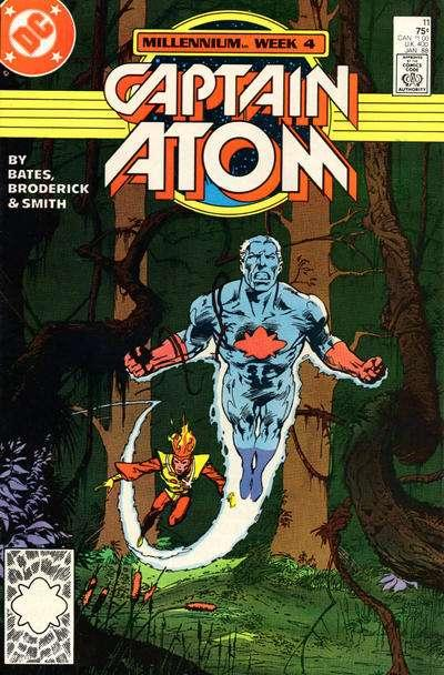 Captain Atom (1987 series) #11, NM- (Stock photo)