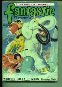 Fantastic Adventures-Pulp-9/1950-Alexander Blade-Walt Sheldon