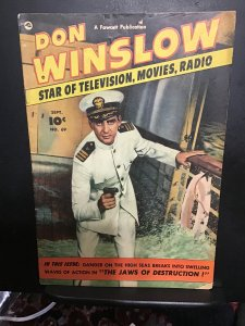 Don Winslow of the Navy #69 (1951) Midgrade FN- Wow! Photo cover key!