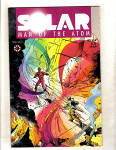 Solar Man Of The Atom # 4 VF/NM Valiant Comic Book Pre-Unity JF15