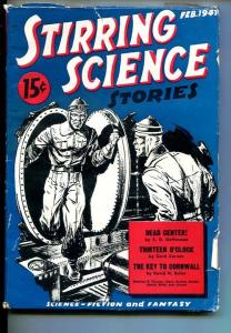 STIRRING SCIENCE-#1-FEB 1941-PULP FICTION-SOUTHERN STATES PEDIGREE-fn