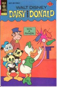 DAISY & DONALD 19 VFNM   September 1976 Disney classic COMICS BOOK