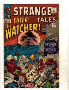 Strange Tales #134 VF- Marvel Comic Book Dr Strange Human Torch Fantastic 4 JF11