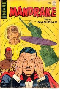 MANDRAKE #6-UFO-FLYING SAUCER COVER-RARE G