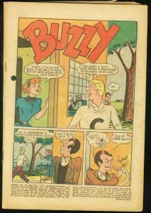 BUZZY #45 1952-DC COMICS-BARGAIN COPY TEEN HUMOR DC P