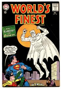 WORLDS FINEST #139 comic book 1963-AQUAMAN-BATMAN-SUPERMAN