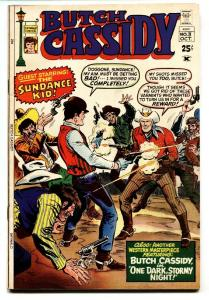 Butch Cassidy #3 1971- Golden Age Western reprints- Red Mask FN/VF
