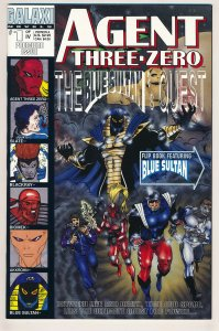 Agent Three Zero (1994) Blue Sultan #1 NM