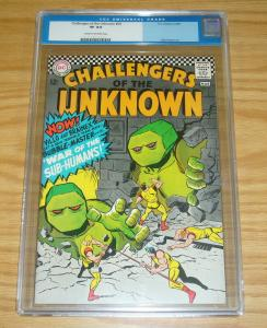 Challengers of the Unknown #54 CGC 8.0 silver age dc comics - bubble-master 1967