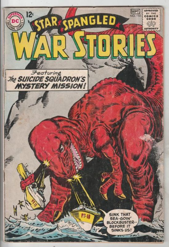 Star Spangled War Stories #110 (Sep-63) VG/FN Mid-Grade Dinosaur