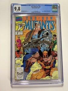 New Mutants 94 Cgc 9.8 White Pages Marvel X-men Copper Age
