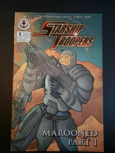 STARSHIP TROOPERS (2007 Series)  (MAROONED/BAD BLOOD) #1 A VF Comics Book
