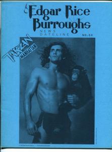 Edgar Rice Burroughs News Dateline #34 1989-Tarzan-new format issue-VF