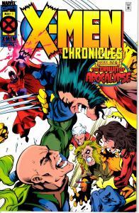 Lot Of 2 X-Men Chronicles Marvel Comic Book #1 2  J192