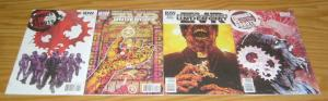 Zombies vs Robots: Undercity #1-4 VF/NM complete series - all B variants ZVR IDW