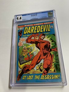 Daredevil 84 Cgc 9.4 Ow/w Pages Marvel Bronze Age
