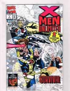 X-Men Unlimited #1 VF/NM Marvel Comic Book 1st Print Wolverine Gambit DE1