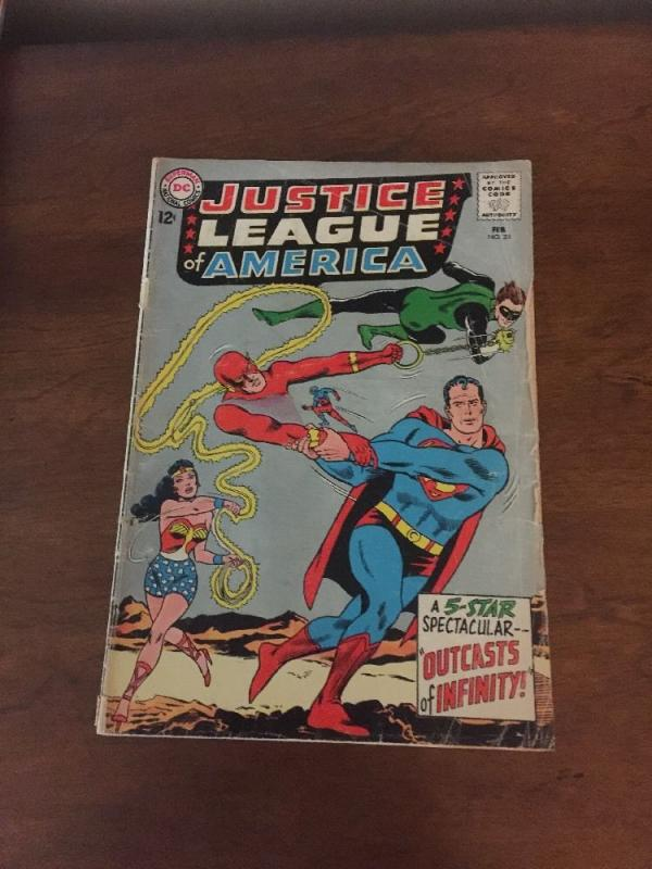 Justice League of America 25 1.8 Good - Gd- Cover Detached See Photos