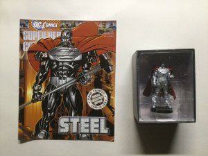 Steel Super Heros Collection 75 Lead Figure and Magazine Dc Eaglemoss