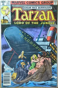 Tarzan #29 (1979) Newstand Edition !