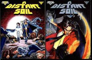 DISTANT SOIL 1,2 (1983) Colleen Doran fantasy classic X 5 of each great stuff