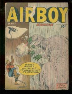 AIRBOY COMICS V.7 #4 1950 FR