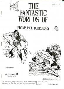 Fantastic Worlds of Edgar Rice Burroughs #11/17 1987-British-Greystoke 88-FN