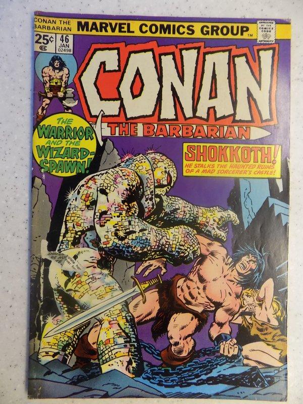CONAN THE BARBARIAN # 46 MARVEL SAVAGE SWORD FANTASY