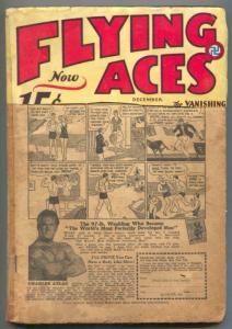 Flying Aces Pulp December 1932- Captain Philip Strange FAIR
