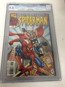 Peter Parker Spider-man 2 Variant Cover Cgc 9.8 John Romita VTHF