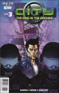 City: The Mind in the Machine #3A VF/NM; IDW | save on shipping - details inside