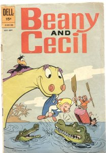 BEANY AND CECIL #1-1962-BOB CLAMPETT'S FAMOUS COMIC CHARACTERS-DELL