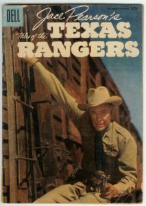JACE PEARSON OF THE TEXAS RANGERS (1951-1954 DELL) 13 F COMICS BOOK
